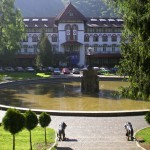 The Dimitrie Ghica Park in Sinaia
