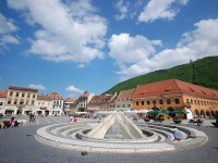 The most beautiful landmarks at the Council Square in Brasov