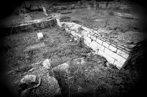 Callatis ruins, Eniko Seres/private photo