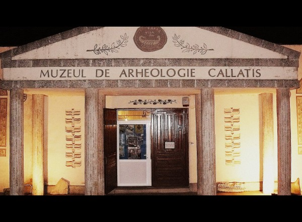 Callatis museum, Eniko Seres/private photo
