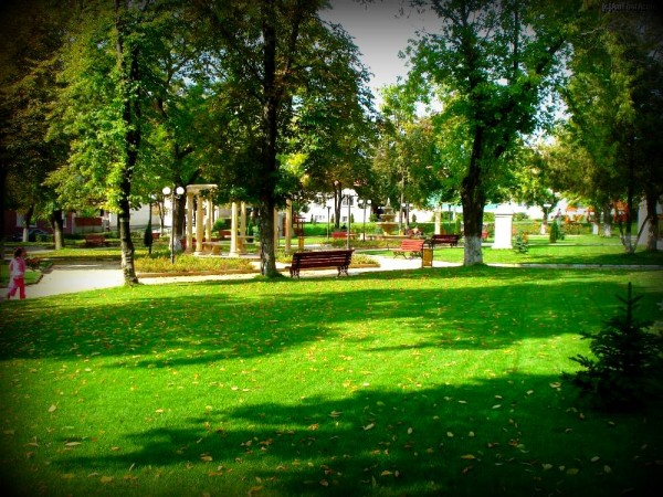 Park at Baile Boghis, Eniko Seres/private photo