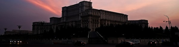 Parliament Palace in Bucharest at sunset, ©Horia Varlan/Flickr